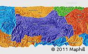 Political Panoramic Map of Maguan
