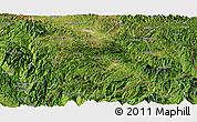 Satellite Panoramic Map of Maguan