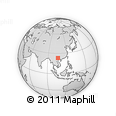 Outline Map of Malipo