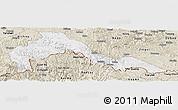 Classic Style Panoramic Map of Malipo