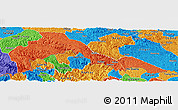 Political Panoramic Map of Malipo