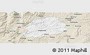 Classic Style Panoramic Map of Malong