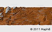 Physical Panoramic Map of Malong