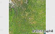 Satellite Map of Yunnan