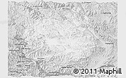 Silver Style Panoramic Map of Menghai