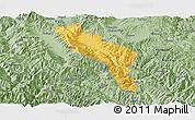 Savanna Style Panoramic Map of Midu