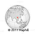 Outline Map of Mile