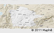 Classic Style Panoramic Map of Mile
