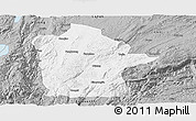 Gray Panoramic Map of Mile