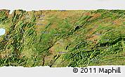Satellite Panoramic Map of Mile