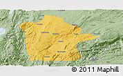 Savanna Style Panoramic Map of Mile