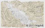 Classic Style Panoramic Map of Mojiang