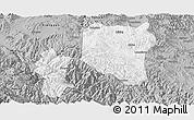 Gray Panoramic Map of Nanhua