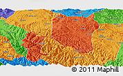 Political Panoramic Map of Nanhua