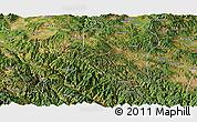 Satellite Panoramic Map of Nanhua