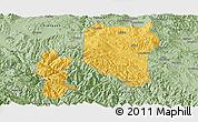 Savanna Style Panoramic Map of Nanhua