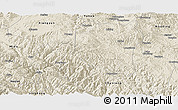 Shaded Relief Panoramic Map of Nanhua
