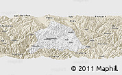 Classic Style Panoramic Map of Nanjian