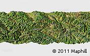 Satellite Panoramic Map of Nanjian