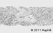 Silver Style Panoramic Map of Nanjian