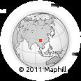 Outline Map of Ninglang