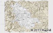 Classic Style Panoramic Map of Ninglang