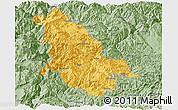 Savanna Style Panoramic Map of Ninglang