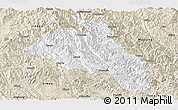 Classic Style Panoramic Map of Puer