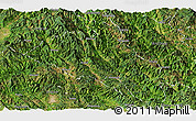 Satellite Panoramic Map of Puer