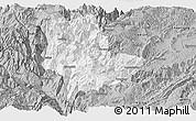 Gray Panoramic Map of Qiaojia