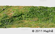Satellite Panoramic Map of Qiubei