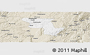 Classic Style Panoramic Map of Qujing