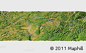 Satellite Panoramic Map of Qujing