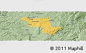 Savanna Style Panoramic Map of Qujing