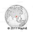 Outline Map of Ruili