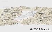 Classic Style Panoramic Map of Ruili