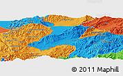 Political Panoramic Map of Ruili