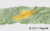 Savanna Style Panoramic Map of Ruili