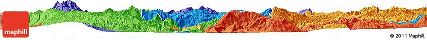 Political Horizon Map of Shidian