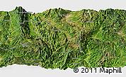 Satellite Panoramic Map of Shidian