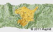 Savanna Style Panoramic Map of Shidian