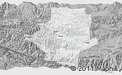 Gray Panoramic Map of Shiping