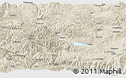 Shaded Relief Panoramic Map of Shiping
