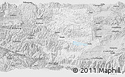 Silver Style Panoramic Map of Shiping