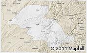 Classic Style 3D Map of Shizong