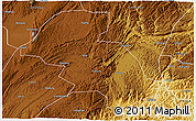 Physical 3D Map of Shizong