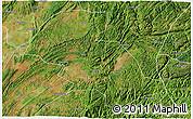 Satellite 3D Map of Shizong