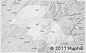 Silver Style 3D Map of Shizong