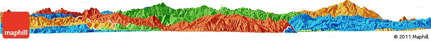Political Horizon Map of Shuangjiang