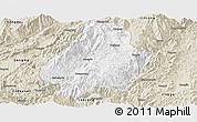 Classic Style Panoramic Map of Shuangjiang